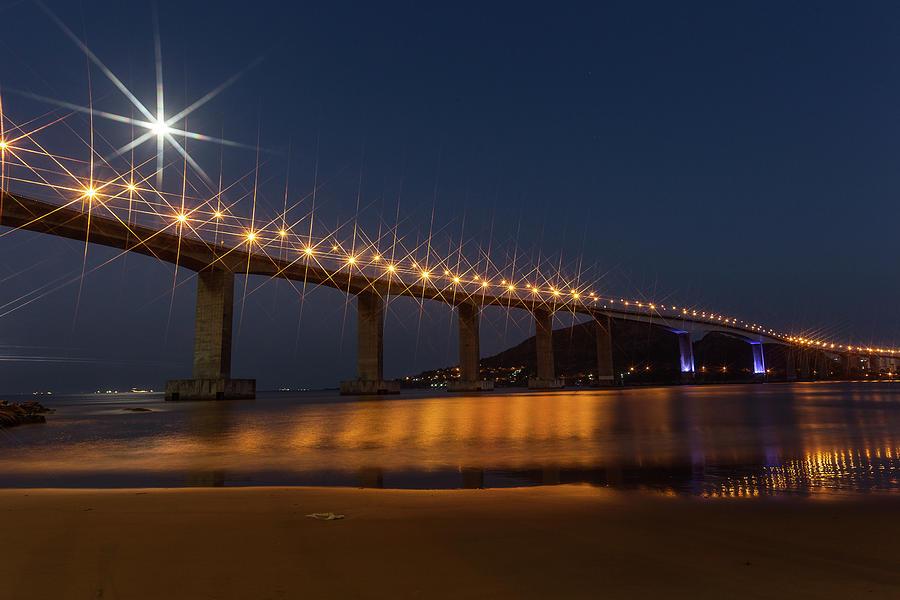 Terceira Ponte Photograph by Www.bartvandorp.com