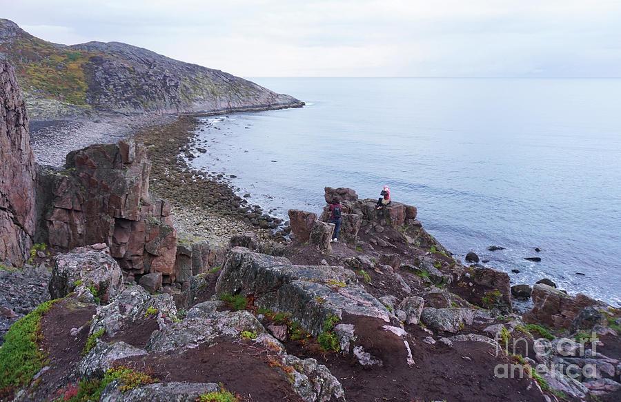 Nature Photograph - The Shoreline Of Teriberka In Russia by Melya Findi