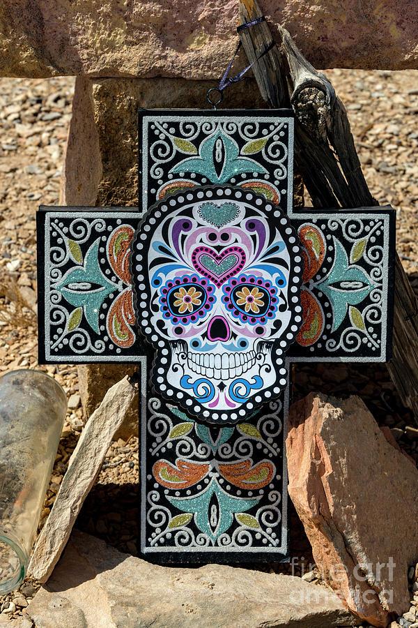 Cross Photograph - Terlingua Cross by Joe Sparks