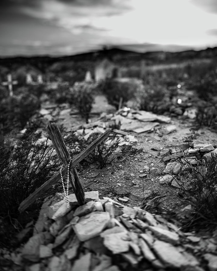 Terlingua Grave by David Downs