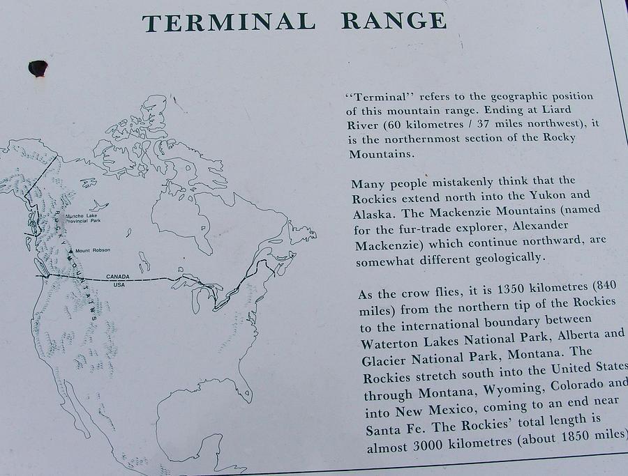 Terminal Range British Columbia Canada by Robert Braley