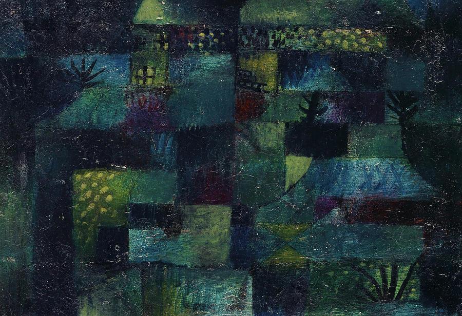 Paul Klee Painting - Terraced Garden, 1920 by Paul Klee