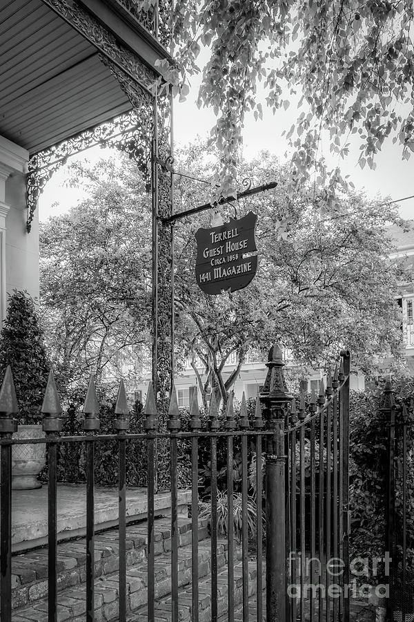 Terrell Guest House - BW_NOLA by Kathleen K Parker
