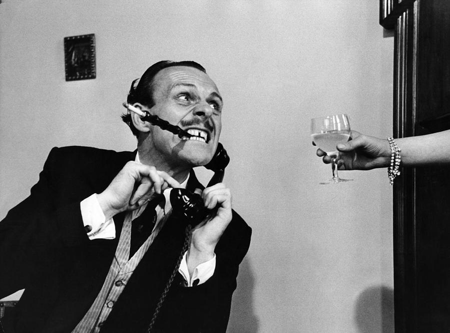 Terry Thomas Photograph by Bert Hardy