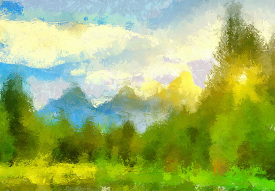 Teton Impressions by Dan Sproul