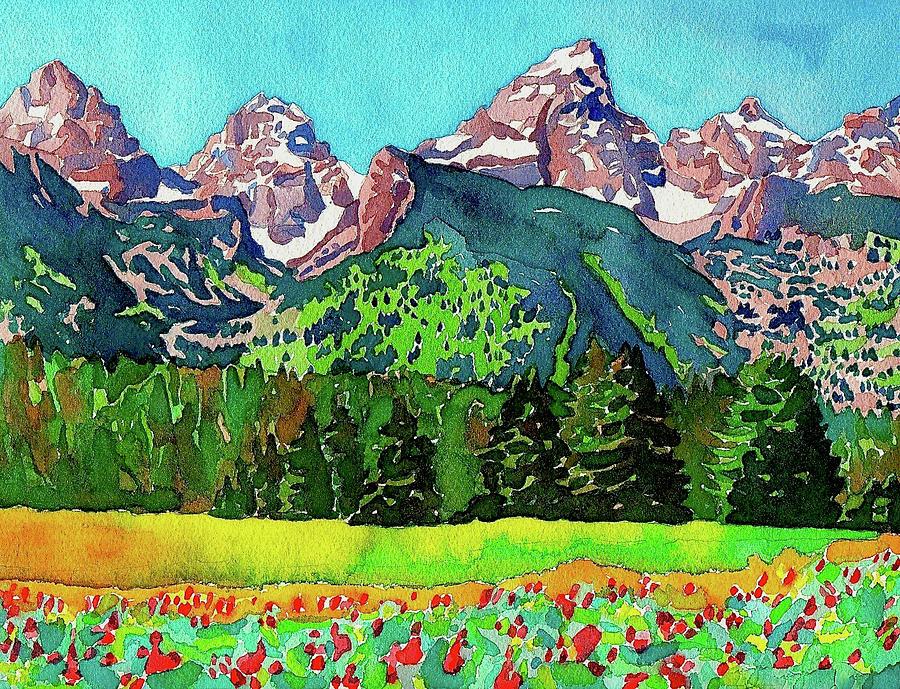 Teton Wildflowers by Dan Miller