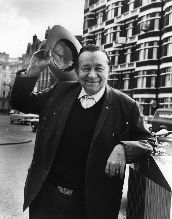 Tex Ritter Photograph by Hulton Archive