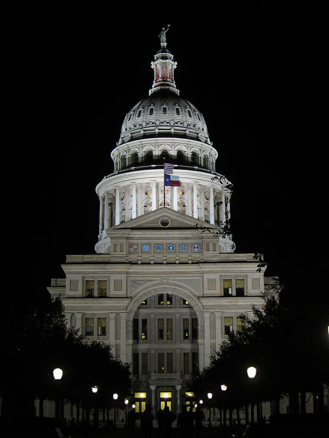 Texas Capitol II - Austin Photograph by Borsheim