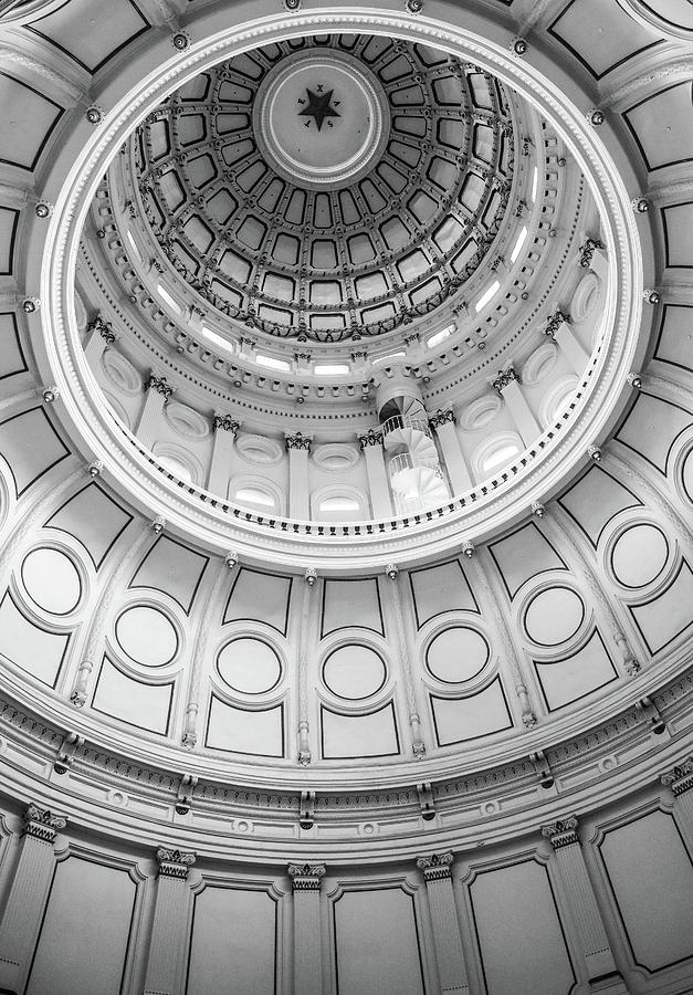 Texas Capitol Star by Dan Sproul