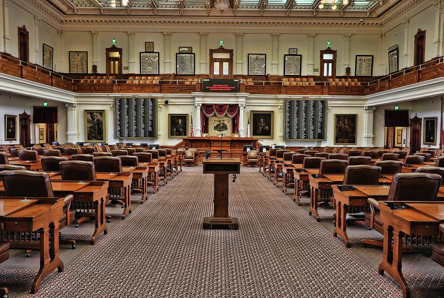 Texas House of Representatives by Allen Beatty
