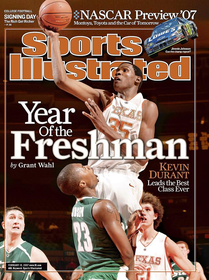 Texas Kevin Durant, 2006 2k Sports College Hoops Classic Sports Illustrated Cover Photograph by Sports Illustrated