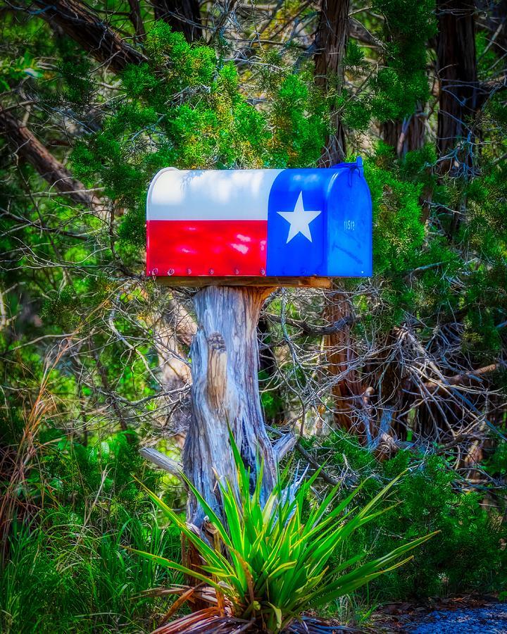 Texas Mailbox by Philip Duff