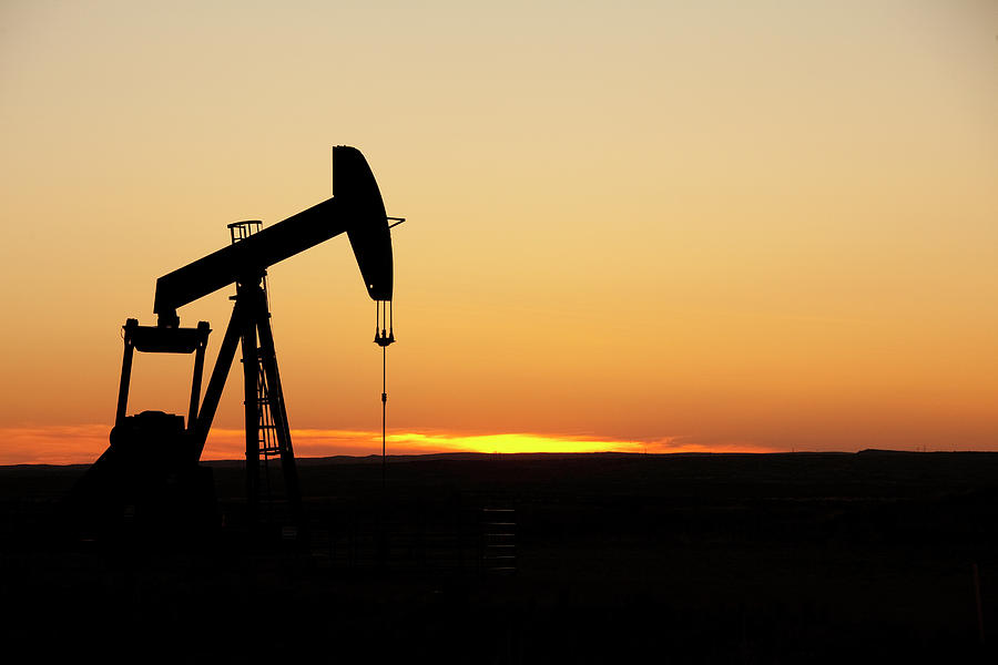 Texas Oil Well Photograph by Clickhere