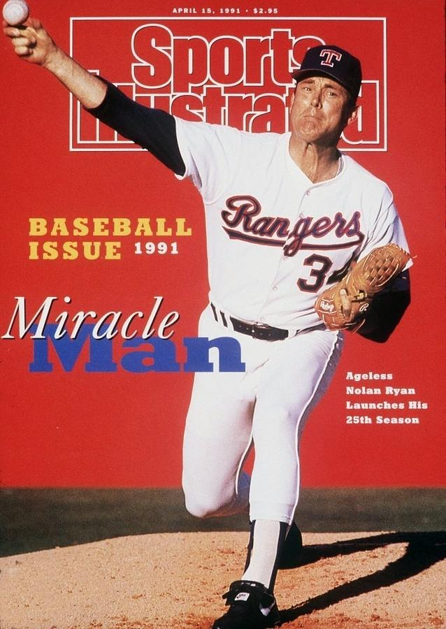 Texas Rangers Nolan Ryan Sports Illustrated Cover Photograph by Sports Illustrated