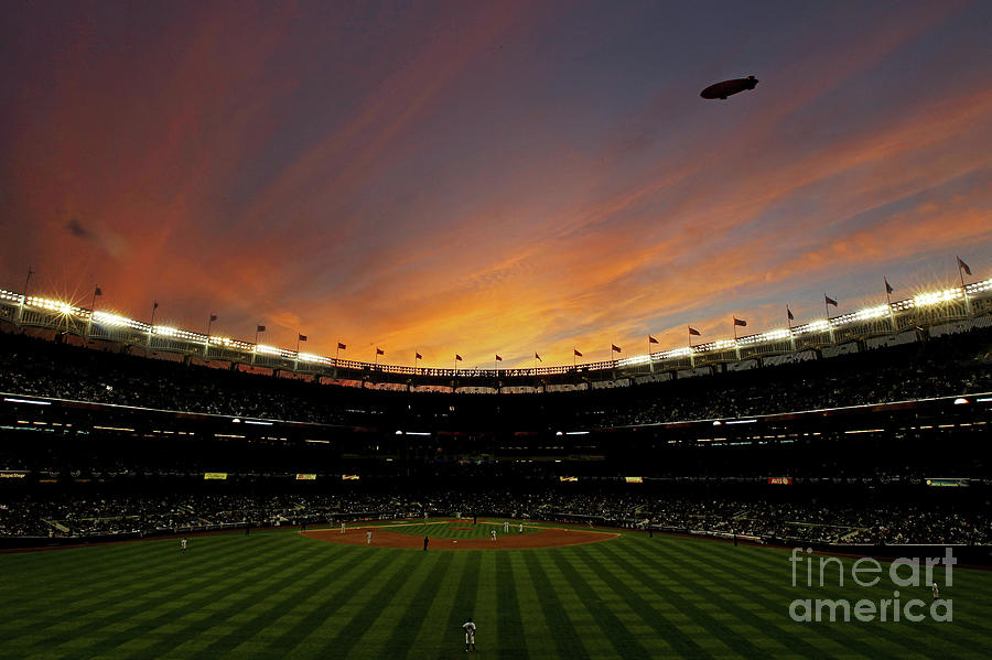 Texas Rangers V New York Yankees, Game 5 Photograph by Nick Laham