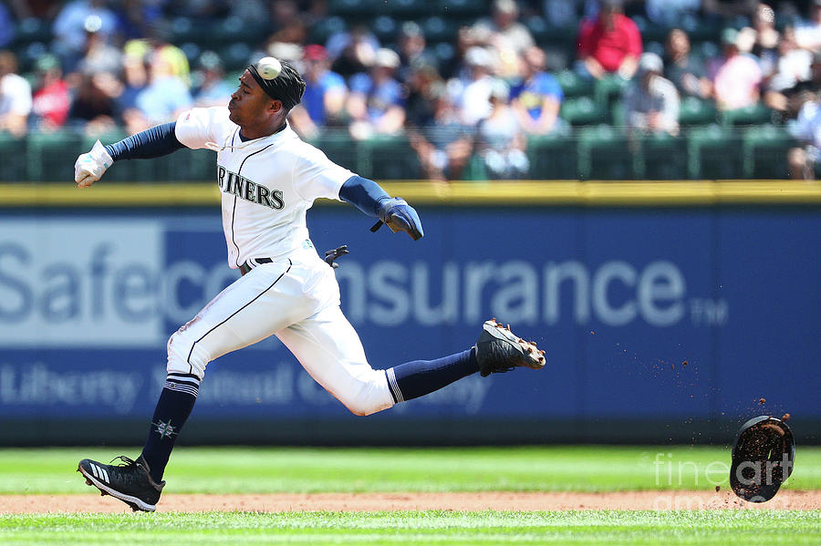 Texas Rangers V Seattle Mariners Photograph by Abbie Parr