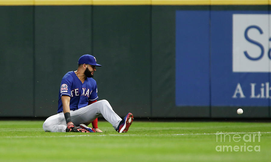 Texas Rangers V Seattle Mariners Photograph by Lindsey Wasson