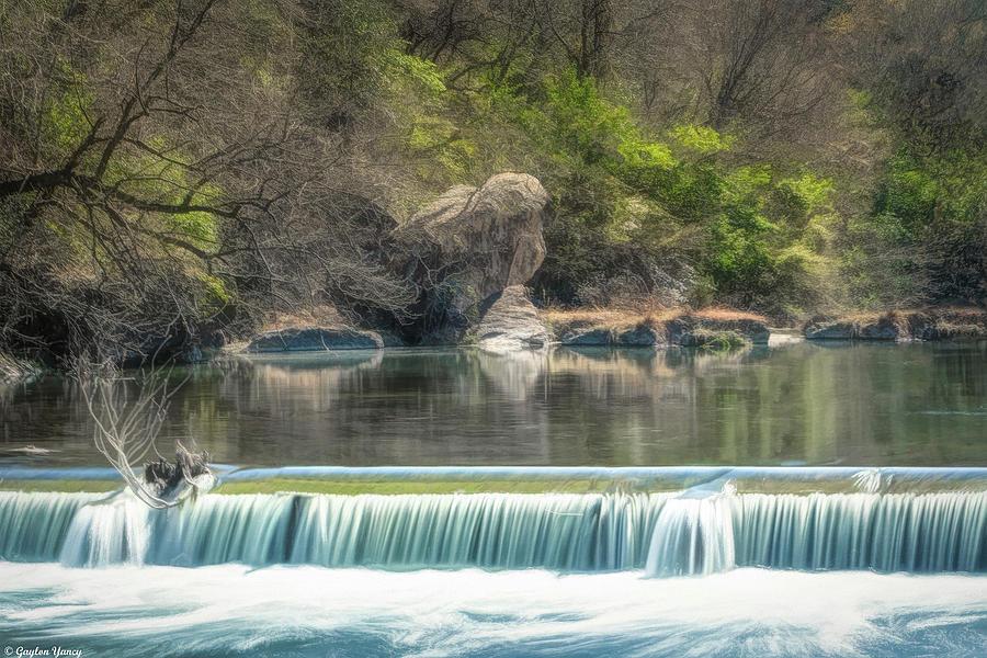 Texas River Falls by Gaylon Yancy