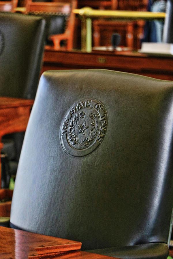 Texas Senate Chambers # 2 by Allen Beatty