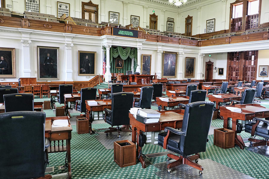 Texas Senate Chambers by Allen Beatty