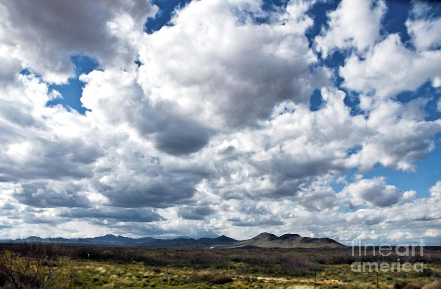 Texas Sky Photograph - Texas Sky by Mae Wertz