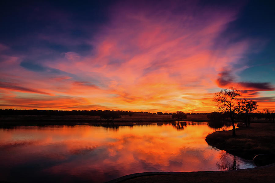 Texas Sunset Photograph by M. Magee Photography