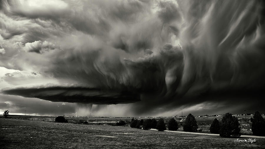 Texas Super Cell by Karen Slagle