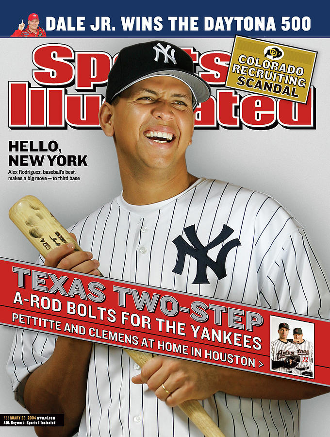 Texas Two-step A-rod Bolts For The Yankees, Pettitte And Sports Illustrated Cover Photograph by Sports Illustrated