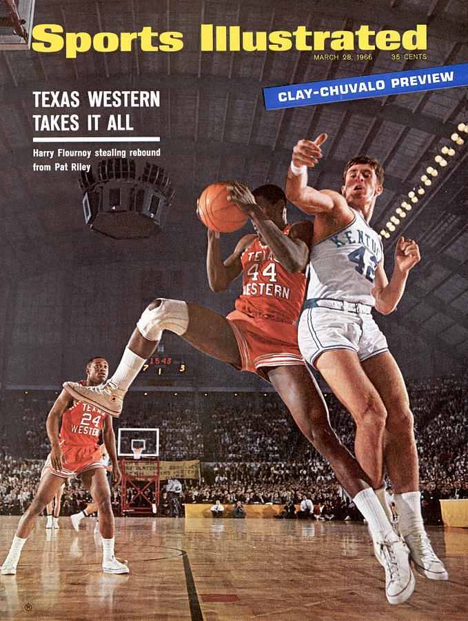Texas Western University Takes It All Sports Illustrated Cover Photograph by Sports Illustrated