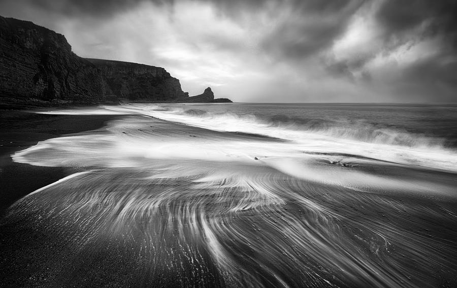 Textures Of The Sea Photograph by Fran Osuna