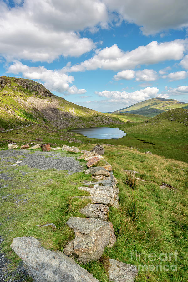 Teyrn Lake Snowdonia Wales by Adrian Evans