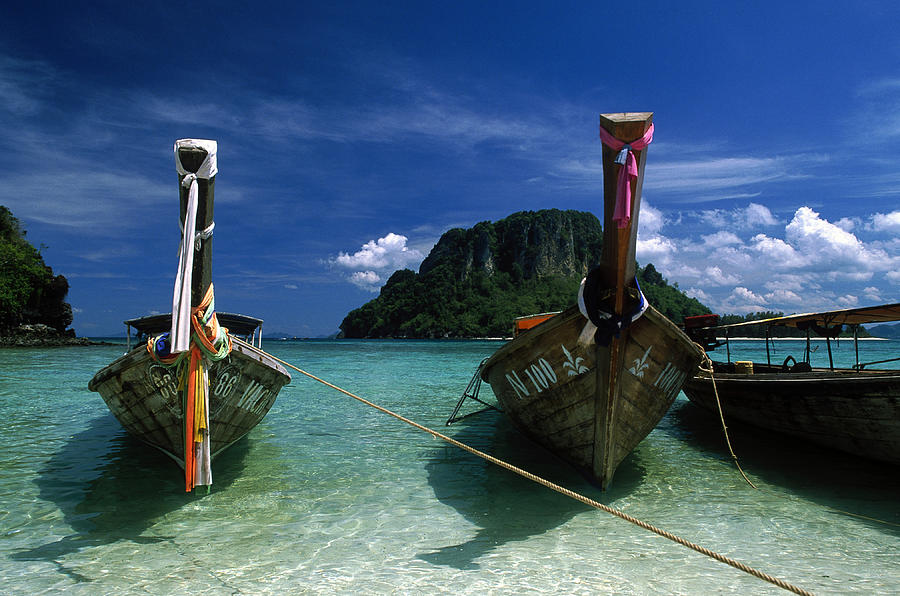 Thab Island, Krabi, Andaman Sea, Phuket Photograph by Buena Vista Images