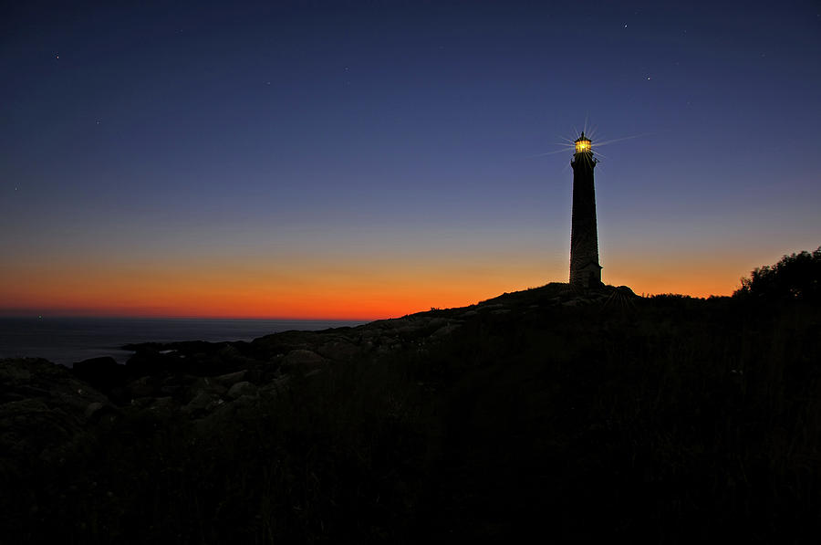 Thacher Island Photograph - Thacher Island Sunrise by Liz Mackney
