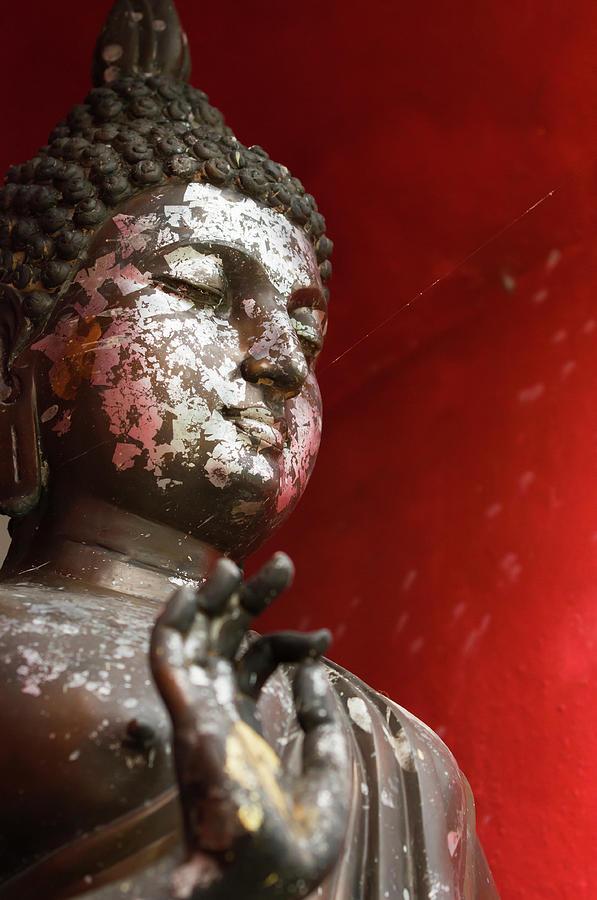 Thai Buddha Image Photograph by Matt Davies Noseyfly@yahoo.com