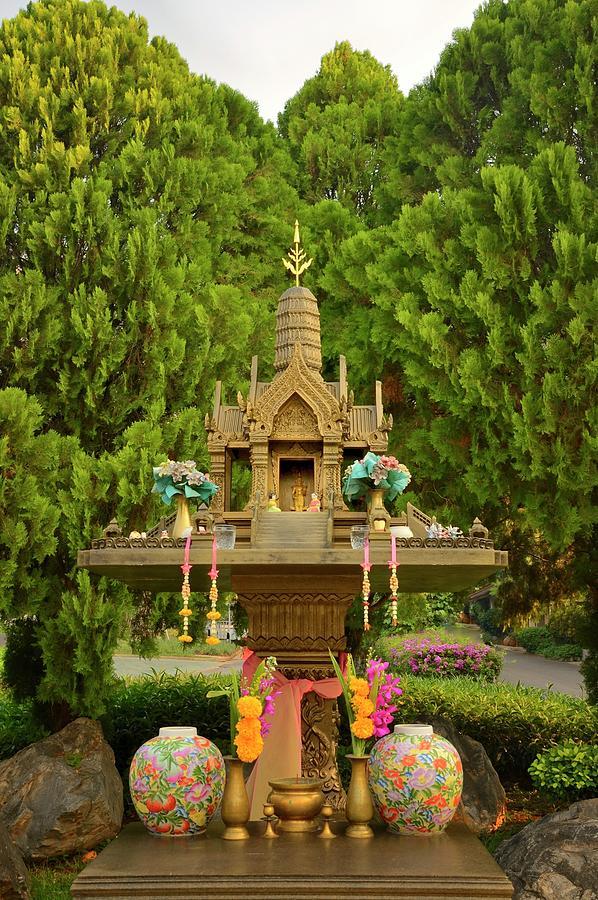 Thai Buddhist Shrine Photograph by Joesboy