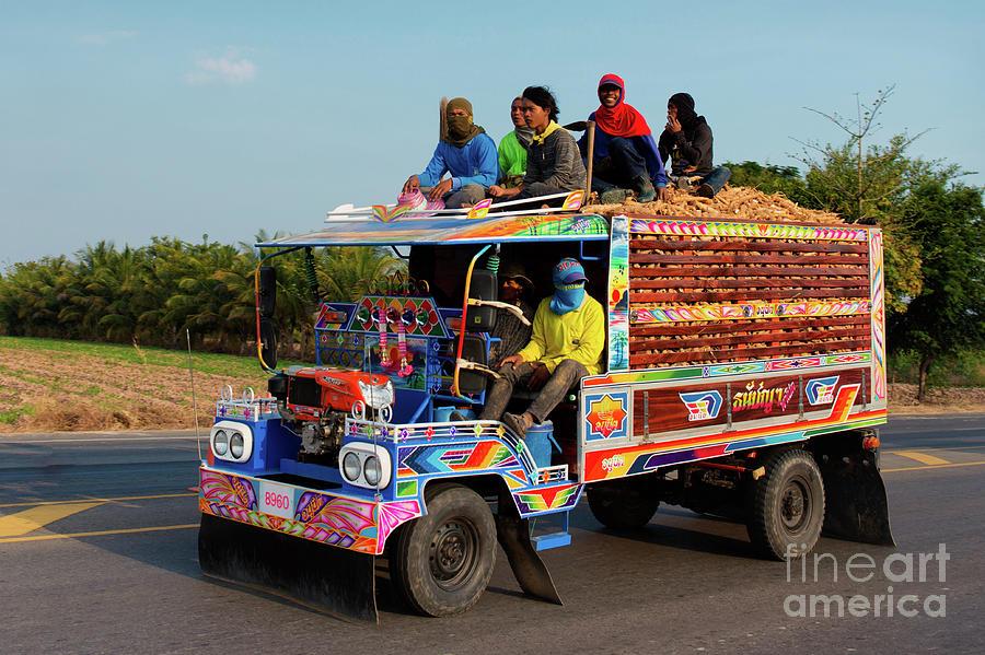 Thai Truck by Lee Craker