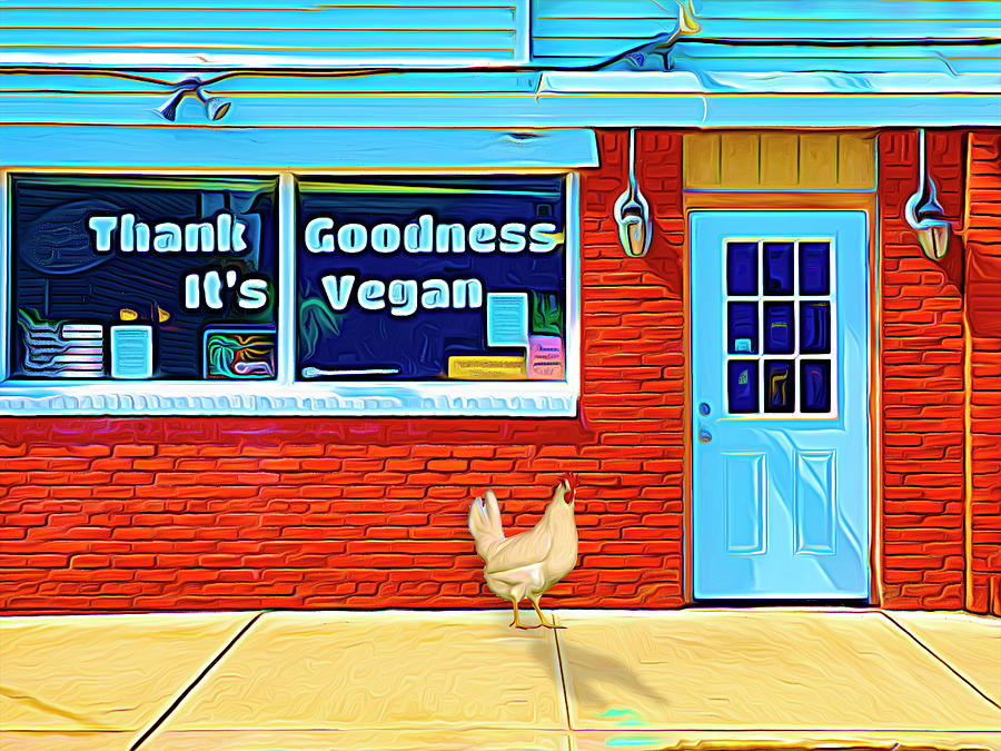 Thank Goodness It's Vegan by Paul Wear