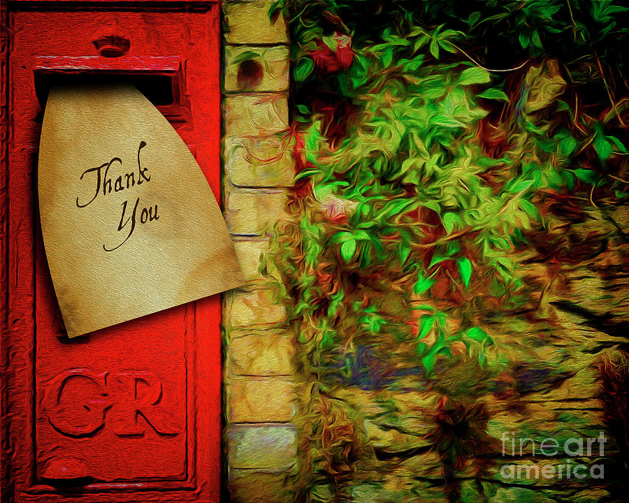 Thank You by Edmund Nagele