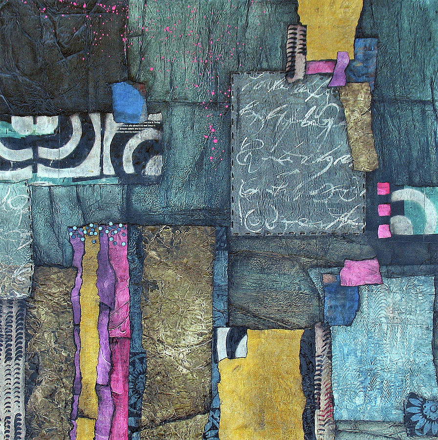 Collage Mixed Media - Thanks by Laura Lein-Svencner