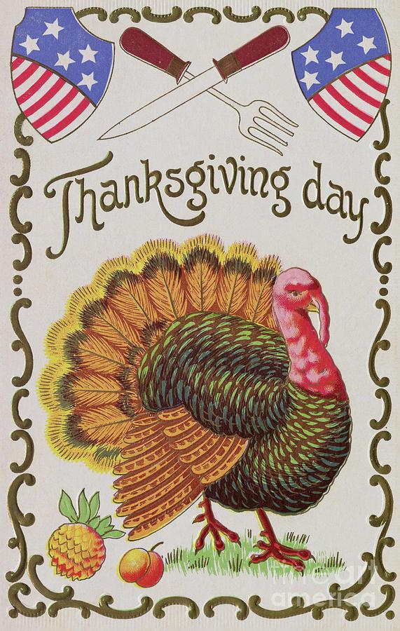 Thanksgiving Day Illustration Photograph by Bettmann
