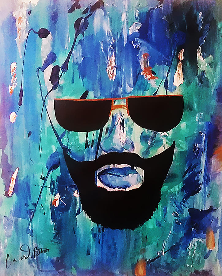 That Beard Life Painting by Christian Belton