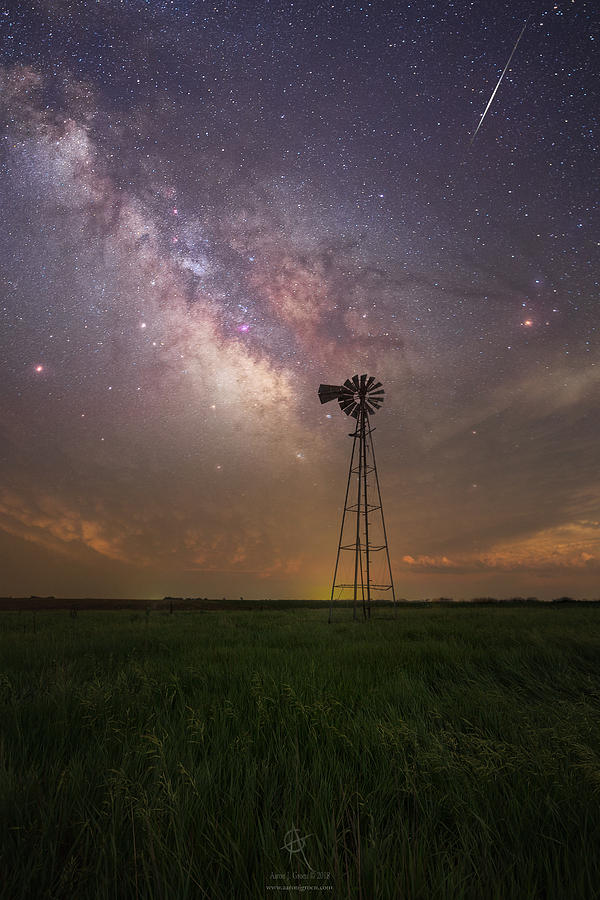 Milky Way Photograph - Thats My Kind Of Night  by Aaron J Groen