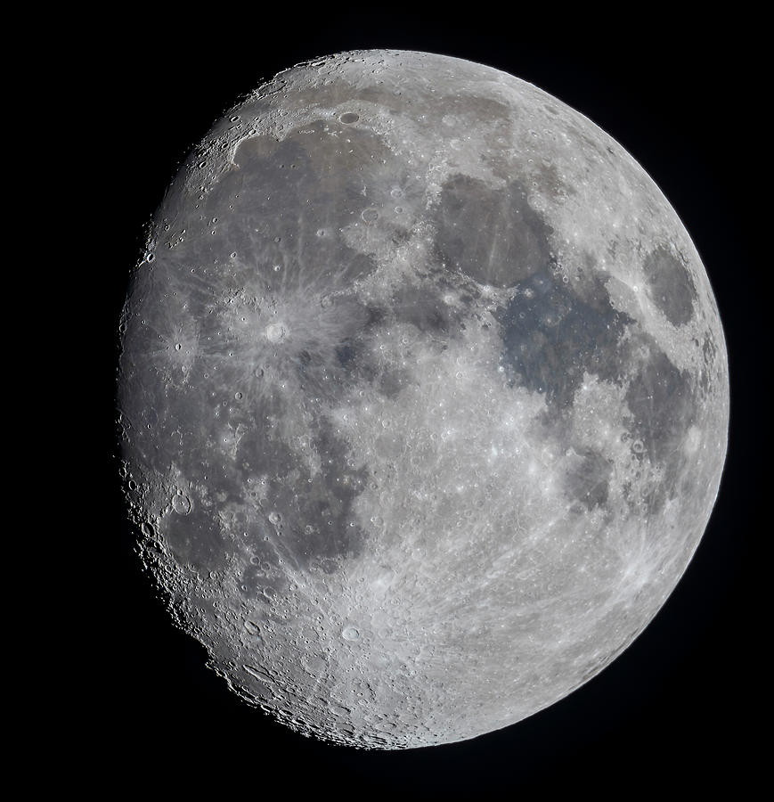 The 11 Day Old Gibbous Moon by Alan Dyer