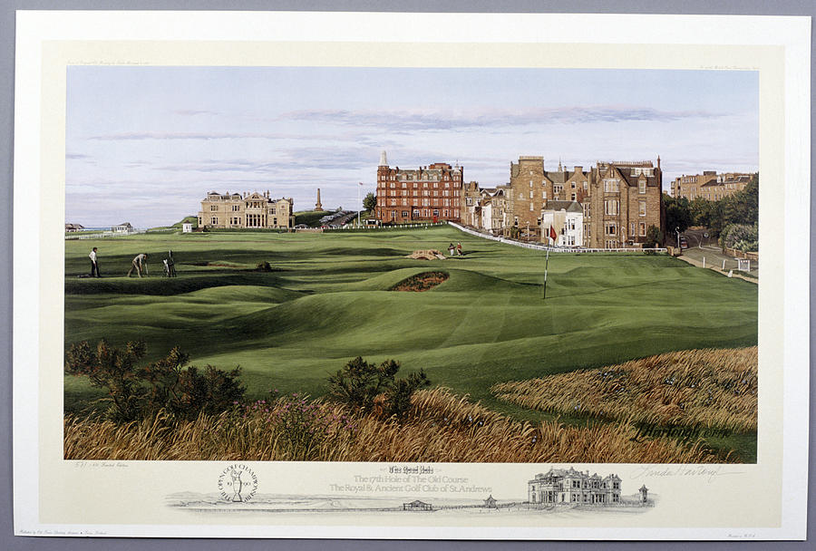 The 17th Hole Of The Old Course, St Photograph by Heritage Images