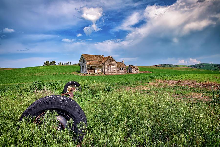 The Abandoned Farmhouse by Rick Berk