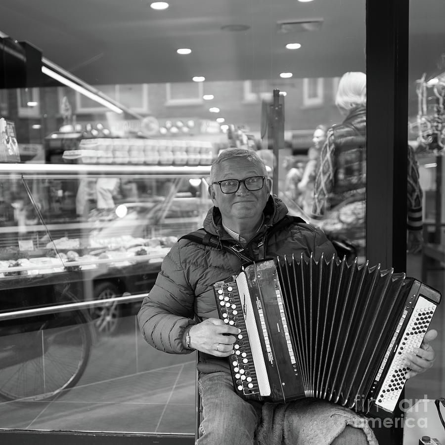 The Accordionist  by Jan Daniels