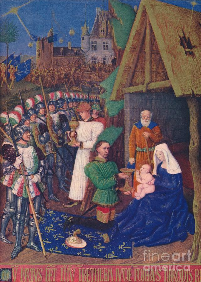 The Adoration Of The Magi C1455 1939 Drawing by Print Collector