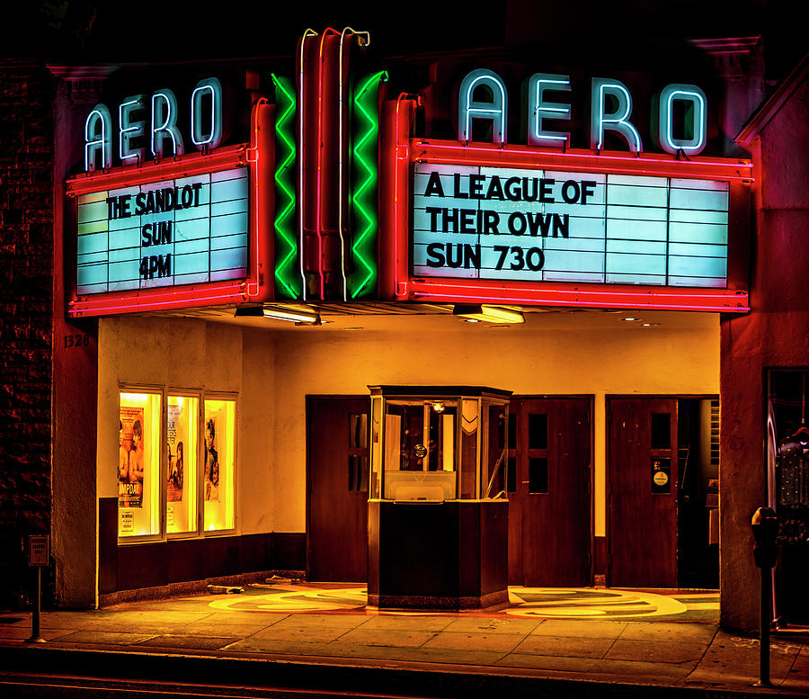 The Aero Theater - A League Of Their Own by Gene Parks