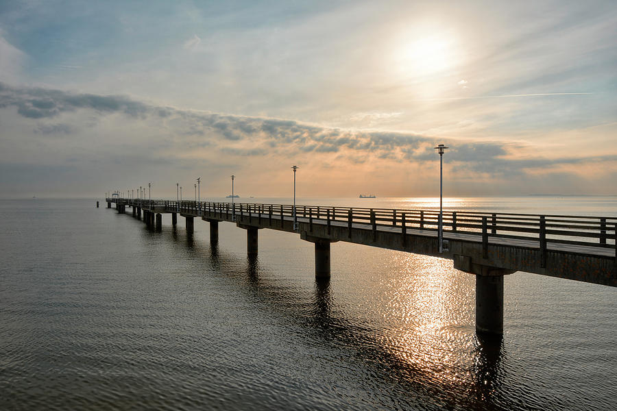 The Ahlbeck Pier Photograph