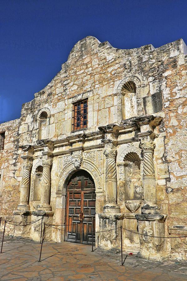 The Alamo - San Antonio # 2 by Allen Beatty